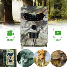 FOTOTRAPPOLA fotocamera digitale IR Caccia TELECAMERA INFRAROSSI 108P HD 12MP