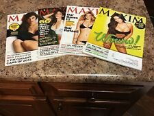 Maxim Magazine 4 Issue Lot From 2012