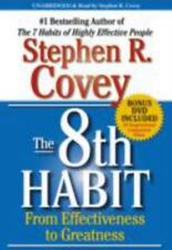 The 8th Habit : From Effectiveness to Greatness by Stephen R. Covey (2011, CD, U