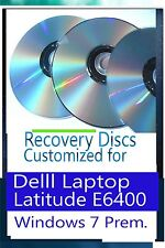 Windows 7 recovery disc for Dell Latitude E6400 Laptops