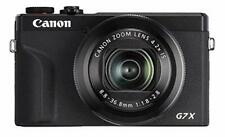Open Box Canon PowerShot G7X Mark III Digital 4K Vlogging Camera, Black