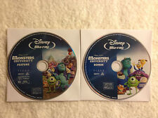 Monsters University 2D BLU RAY Feature and Bonus Disc ONLY NO OTHER DISCS