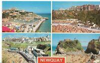 Cornwall Postcard - Views of Newquay   AB57
