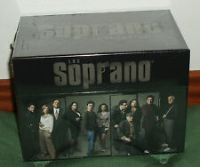 THE THE SOPRANOS-SOPRANO 1-6 SEASONS COMPLETE 32 DVD NEW SEALED SERIES