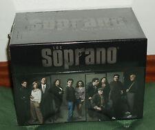 LOS SOPRANO THE SOPRANOS 1-6 TEMPORADAS COMPLETAS 32 DVD NUEVO PRECINTADO SERIES