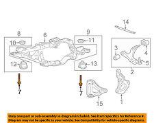 GM OEM Front Suspension-Engine Cradle Bolt 11588565