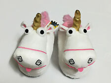 Minions Unicorn Papoy Slippers for Adult Women Size UK 3-7, US 5-9, EU 35-41
