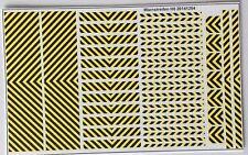 Warnstreifen schwarz/gelb Decals 1:87 oder H0
