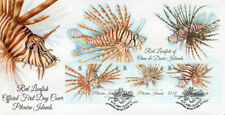 First Day of Issue Fish British Colony & Territory Stamps