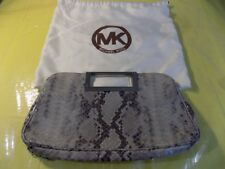 Micheal Kors Natural Python Leather Clutch Purse