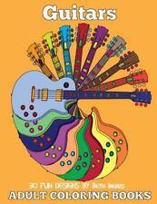 Adult Coloring Books: Guitars [Volume 19]
