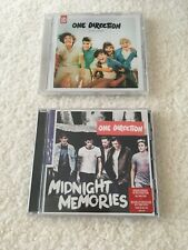 2 X One Direction CD Albums - Up All Night & Midnight Memories