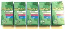 5 x RIZLA MENTHOL ULTRA SLIM FILTER TIPS 5.7mm CIGARETTE TOBACCO BACCY THIN TIP