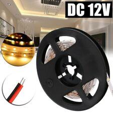 5M 300LED 2835 SMD Strip Bande Ruban Flexible Lampe Blanc Lumiere chaude 12V DC