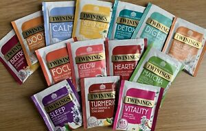 Twinings Asst Superblends Fruit/Herbal Envelope Tea Bags X20 - All 13 Flavours+