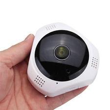 WiFi Camera HD1080P Wireless IP Panoramic 360° Fisheye CCTV 3D Monitor For phone