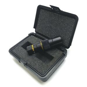 Melles Griot 41180 Macro Invaritar Camera Lens 2X f3.1-16 25mm WD C-Mount w/Case