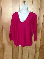 WOMEN'S LANE BRYANT V-NECK KNIT TOP-SIZE: 26/28