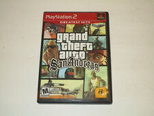 GTA San Andreas  for Playstation 2 or Ps2 Complete in Very Good Condition. CIB