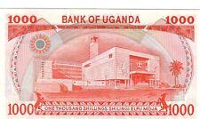 Uganda 1000 scellini  1986  FDS UNC Pick 26  rif 125