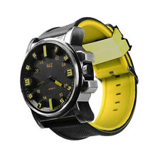 Men's Yellow Big Boy Wristwatch