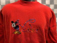 Vintage Mickey & Co Disney Sweat Shirt Men's Size L