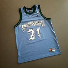 100% Authentic Kevin Garnett Nike Wolves Swingman Jersey Size L 44 Mens