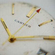 Cartier Werk, Automatik, Zifferblatt, Zeiger, Krone, 1965, runs - Cartier NY
