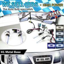 H1 35W Xenon HID bulbs lamp Metal base 4300k 6000k 8000k 10000K  WHITE UK SUPPLY