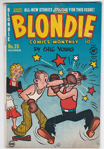 Blondie Comics Monthly #25 Very Good Plus 4.5 Harvey Comics Chic Young 1950