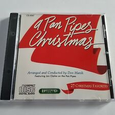 A Pan Pipes Christmas CD 27 Favorite Holiday Songs Don Marsh Jon Clarke Xmas