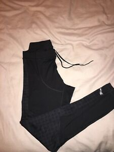 Mens Puma Running Long Tights  Pristine Condition Size M