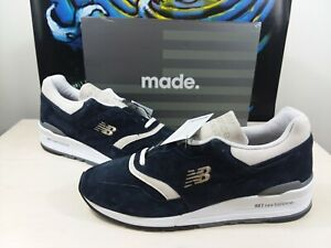 "New Balance 997 X Todd Snyder ""Triborough"" Navy M997TS5 made in USA"