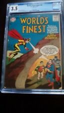 World's Finest #90 CGC 3.5 Batwoman's 1st App In this Series - 3rd Batwoman App