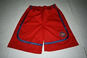 Youth Chicago Cubs XL (14/16) Shorts (Red) Team Athletics