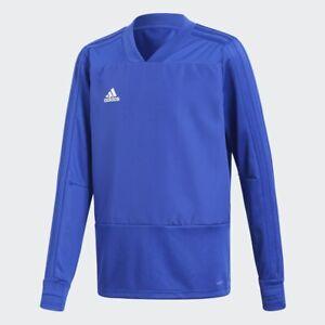 Adidas Convido Football Player Training Top, Blue, Boys 9-10 years old, BNWT