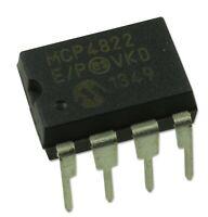 MICROCHIP - MCP4822-E/P - 12BIT DAC, SPI, VREF, DUAL - Brand New - UK Seller