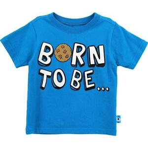 Sesame Street Infant Boys Cookie Monster Born To Be Hungry Top Size 12M 18M 24M