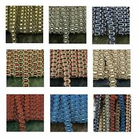 TRADITIONAL GIMP BRAID TRIM UPHOLSTERY 8 COLOURS 11MM WIDE SOLD BY THE METRE G15