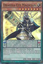 YU-GI-OH CARD: DHARMA-EYE MAGICIAN - SUPER RARE - BOSH-EN096 1ST EDITION