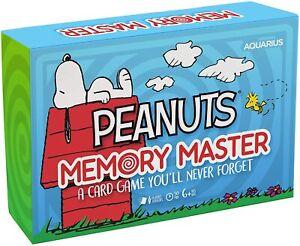 Peanuts Memory Master Card Game (nm)