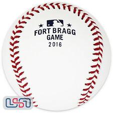 Rawlings 2016 Fort Bragg Official Game Baseball 7/3/16 Marlins Braves Boxed