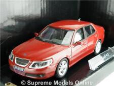 SAAB 9-5 MODEL CAR SALOON 1:43 MAROON EXAMPLE 21311-262 JUNIOR CARARAMA SEDAN K8