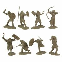 Ancient Barbarian Warriors: 16 piece set of 60mm Figures - 1:30 scale