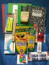 Back To School Supplies Essentials Bundle Pack Crayola and more .....
