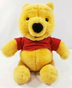 "Winnie The Pooh Chat Pal Talking Moving 10"" Plush  Toy Disney Mattel 1999 WORKS"