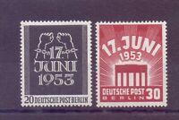 Berlin 1953 - Volksaufstand - MiNr. 110/111 postfrisch** - Michel 50,00 € (688)