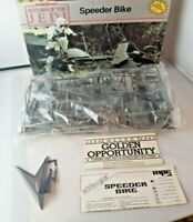 Vintage MPC Return of the Jedi Speeder Bike Kit (Contents Sealed) 1983