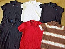 Lot, 6 mens size XL polo shirts, American Eagle, Abercrombie & Fitch