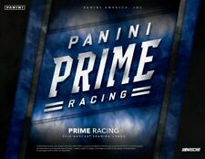 2018 Panini Prime Racing Hobby 8-Box Case